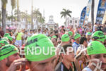 Pre-race scenic crowd at the 2016 Ironman 70.3 Cartagena in…