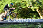Carlos Quinchara Forero during the bike portion of the 2016…