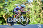 Justin Metzler during the bike portion of the 2016 Ironman…