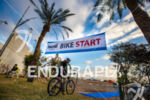 Athletes exit T1 to start the epic bike course at…