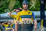 Richard Murray walks to the start line at the 2017…