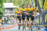 Mario Mola leads a group on the run at the…