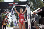 Holly Lawrence claims victory at the 2017 Ironman 70.3 Santa…