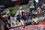 Age groupers reach the finish line at the 2017 Ironman…