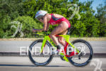 Holly Lawrence on bike at the Escape from Alcatraz Triathlon…