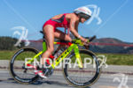 Holly Lawrence (GBR) first female off the bike at the…