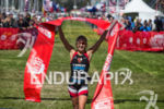 Lauren Goss (USA) wins the female pro race at the…
