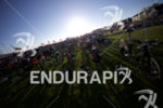 The transition area at Escape From Alcatraz Triathlon on June…