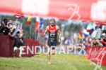 Ben Knute on his way to victory at the Escape…