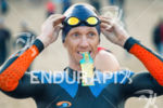 agegroup athlete prepares for the swim at the 2017 Ironman…