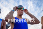 Sebastian Kienle (GER) prepares for the swim at the 2017…