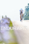 Andi Boecherer (GER) competes during the bike leg at the…