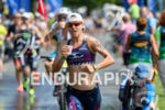 Sarah Crowley (AUS) competes during the run leg at the…