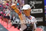 Andi Boecherer (GER) celebrates at the finish line at the…