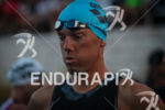 Frederic Van Lierde concentrates before the start of Ironman France…