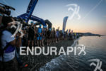 Pro start of Ironman France in Nice, France on July…