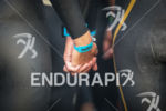 Couple holding hands gets ready to compete at Ironman France…