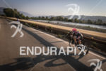 Nicole Valentine (3rd pro) during the bike leg at Ironman…