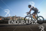 Age group athlete during the bike leg of Ironman France…