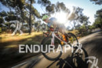 Thomas Leboucher (DNF) during the bike leg at Ironman France…
