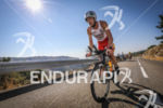 Alessandro Degasperi (2nd Pro) during the bike leg of Ironman…