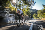 Etienne Diemunsch (DNF) during the bike leg at Ironman France…