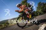 Frederik Van Lierde (1st pro) during the bike leg at…