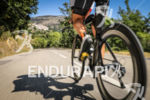 Cameron Wurf (DNF) during the bike leg at Ironman France…