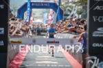Carrie Lester (1st Pro) wining Ironman France in Nice, France…