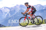 Bike leg of the Alpe d'Huez Long distance Triathlon in…