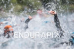 Swim leg of the Alpe d'Huez short distance Triathlon in…