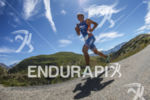 Run leg of the Alpe d'Huez short distance Triathlon in…