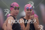 Paula Findlay readies for the swim start at the 2017…