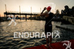 Daniela Ryf during the swim portion of the 2017 Ironman…