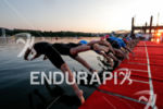 Race swim start of the 2017 Ironman 70.3 World Championship…