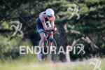 Heather Wurtele during the bike portion of the 2017 Ironman…