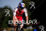Daniela Ryf during the bike portion of the 2017 Ironman…