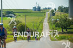 Breathtaking midwest  scenery masks the tough hills  on the bike…