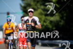Sebastian Kienle during the run portion of the 2017 Ironman…