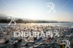 male age group swim start at the 2017 Ironman World…