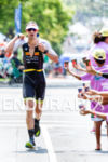 Sebastian Kienle (GER) competes during the run leg at the…