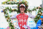 Daniela Ryf (SUI) at the finish of the 2017 Ironman…