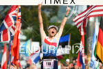 Lucy Charles (GBR) at the finish of the 2017 Ironman…