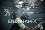 An age grouper prepares to start the swim leg at…