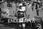 Lucy Charles reaches the finish line at the 2017 Ironman…