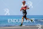 Patrick Nilsson (SWE) competes during the run leg at the…