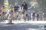 Age groupers make their way through the bike course at…
