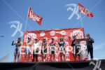 The pro women's awards at Escape From Alcatraz Triathlon on…