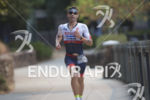 Tim O'Donnell on the run course of the 2018 Ironman…