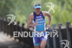 Mirinda Carfrae on the run course of the 2018 Ironman…